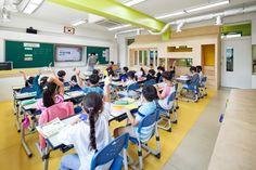 [3] 서울 동답초등학교 교실 : 숲 속의 집을 꿈꾸다 : 네이버 블로그 Basketball Court, Classroom, Google, Class Room