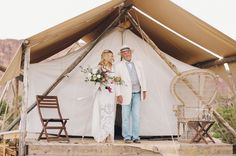 Bride and her dad Tom Beringer Weddingchella Desert Wedding 'Cause We Can Events: Wedding Planning for the wanderers of the world Estilo Boho, Festival Wedding, Green Wedding Shoes, Zeppelin, Festival Fashion, Glamping, Wedding Designs, Boho Wedding, Getting Married