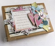 Shabby Vintage, Boxes, Scrapbooking, Frame, Cards, Diy, Decor, Picture Frame, Crates
