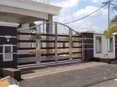 Stainless Steel Gate, House Plans, Stairs, Facebook, Home Decor, Wood, Stairway, Decoration Home, Room Decor