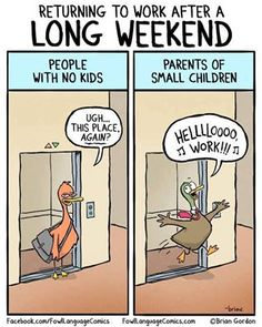 Sometimes.... But by the end of the day, I can't wait to see them again!  #kids #children #parents #parenting #mom #dad