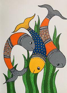 Worli Painting, Kerala Mural Painting, Pichwai Paintings, Indian Art Paintings, Madhubani Art, Madhubani Painting, Indian Folk Art, India Art, Cross Stitch Art