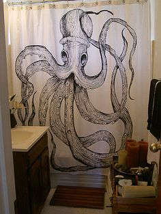 #bathroom #octopus