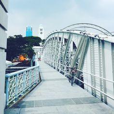 Brücke direkt beim Fullerton Hotel in Singapur. #myBCmoment in Singapur