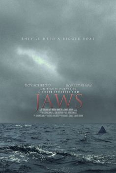 Jaws (1975) Poster by TinyButDeadly.deviantart.com on @deviantART
