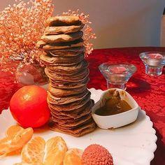 Bombom Rocher my fav saudades de comer tangerina #proteinpancakes #maxprotein ( # @inesgetshealthy )