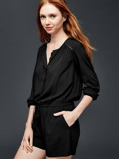 Long sleeve romper Product Image