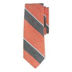 Broad multistripe tie - Christie JCrew
