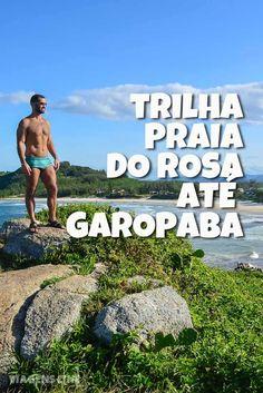 Trilha de Garopaba até Praia do Rosa - Praia da Ferrugem. O visual das praias nesse percurso é de tirar o fôlego