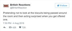 Known for being well mannered, reserved and loving tea, us Brits aren't afraid to poke fun at the stereotypes and pitfalls surrounding life in the UK, proven by British Memes, British Comedy, British Things, British People, Great British Bake Off, Growing Up British, Being British, British Army, Britain Funny