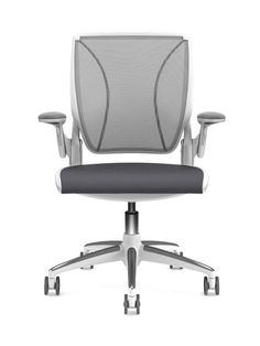 nice clean colour combo...Humanscale World Chair
