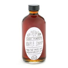 pretty label \\ Maple Syrup by Old Field Farm