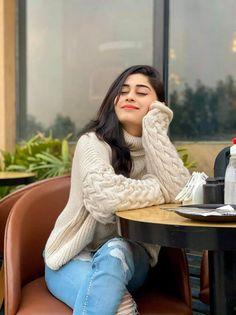 #sofiakaif #fastion Pakistani Girl, Turtle Neck, Sweaters, Fashion, Moda, Fashion Styles, Fasion, Sweater