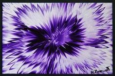 Purple Haze - Encaustic Wax Painting Available in Giclée Print Limited Edition - by Anne Berendt