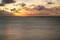 The sun setting over Salvador da Bahia - BEAUTIFUL!    #beautiful #sunset #brazil