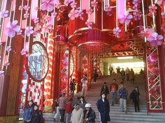 Entrance Habour City Shopping mall, HongKong_Lunar New Year_4