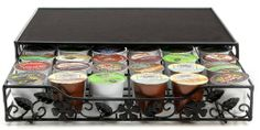 Amazon.com: Epica Single Serve Pod Storage Drawer Holds Up To 36 Single Coffee Pods: Office Products