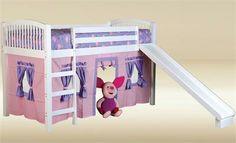 34 Best Loft Bed With Slide Images Bed With Slide Bed