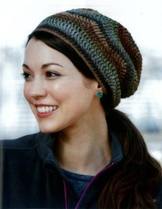 Maggie's Crochet · Crochet Slouchy Beanies #crochet #pattern #slouchy #beanies #headwraps #fashion #unique #designs #assorted
