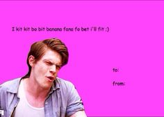 Read 17 from the story AHS & Evan Peters Memes by -oliviaa (Joel Keeny) with 714 reads. Nerd Valentine, Valentine Cards, American Horror Story Quotes, Horror Show, Best Horrors, Evan Peters, Profile Photo, Ahs, Funny Cards