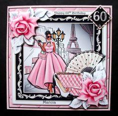 Perfectly Posh ETHNIC on Craftsuprint - View Now! Fashion Themes, Perfectly Posh, I Card, Decoupage, Ethnic, Aurora Sleeping Beauty, Card Making, Disney Princess, Mini