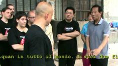 Wang Xian Tui Shou Lesson Marcello Sidoti Wang Xian Taiji Italy