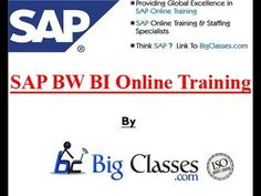 http://www.bigclasses.com/sap-bw-bi-online-training.html BigClasses.com offer sap BW/BI online training coures in India.In our sap BW/BI online  course you will provided all the concepts . We are Best Online training Institute for in Hyderabad and India.