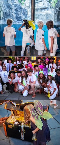 RLKids transformed the runway into Neverland for the Fall 2015 Fashion Show at the Central Park Zoo in partnership with the new Pan Movie and in support of children's literacy.