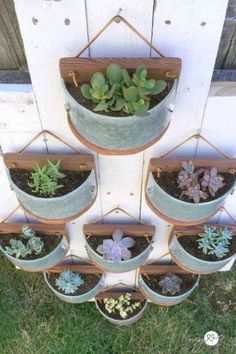 s 7 shocking things you can do with old unwanted pieces, Unique Succulent Planters