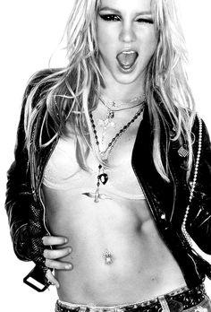 Britney For Blender Magazine By Rankin