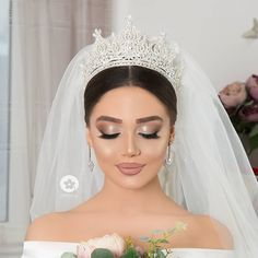 Wedding Makeup Tips, Bridal Makeup Looks, Bride Makeup, Wedding Hair And Makeup, Wedding Beauty, Hair Makeup, Beauty Makeup Tips, Beauty Hacks, Hair Beauty