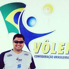 Visita a CBV . Entrando em contato com a fortaleza do Vôlei Brasileiro. #volleyball  #volei #cbv #volleyballplayer