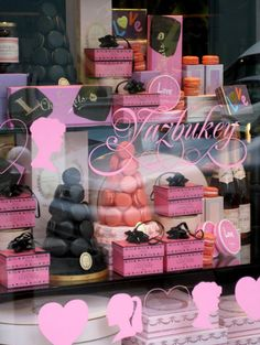 Window Display:Valentine 2010 Ladurée × Yazbukey Shop Window