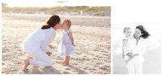 mother daughter on the beach, photography, beach family session
