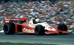 1978 Hockenheim Wolf WR1 Keke Rosberg