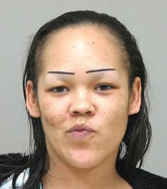 Some of these worst eyebrows ever are drawn on, some are shaped or cut that way they are, but all of them are certainly poor decisions or at least a mistake. Seen any eyebrows that looked worse than these? Growing Out Eyebrows, How To Grow Eyebrows, Plucking Eyebrows, Funny Eyebrows, Worst Eyebrows, Blonde Eyebrows, Makeup Eyebrows, Bad Makeup, Eye Brows