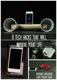 Wow! 8 Tech Hacks That Will Improve Your Life. Guaranteed. #spon #lifehacks