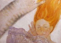 Hvit drøm Painting, Art, Pictures, Art Background, Painting Art, Kunst, Paintings, Performing Arts, Painted Canvas
