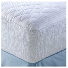 """Simmons Five Zone Pima Cotton Stripe Mattress Pad - California King Mattress Pad by Louisville Bedding Company. $195.99. The Simmons Five Zone Pima Cotton Stripe Mattress Pad gives back what the day takes away. Five-zone mattress pad has additional fill in the central zone to support your lumbar & lower back.  100% Pima Cotton Stain Release  Product Measurements:  Twin - 38""""Wx75""""L Full - 53""""Wx75""""L Queen - 60""""Wx80""""L King - 76""""Wx80""""L California King - 72""""Wx84""""L  Ca..."""