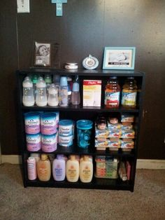 Great way to organize baby supplies
