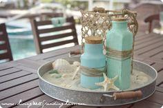 beach theme birthday party ideas | Beachy Mermaid Party–darling beach and mermaid themed birthday party ...