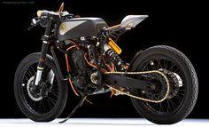 Black Jack, del barro al asfalto - #Yamaha YZ426f