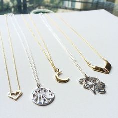 Afternoon necklace selection! Available on LiliKleinJewelry.com #LiliKlein