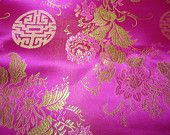 SPECIAL Chinese brocade fabric 1 yd. 34 178cm of by TintinBeads