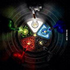 The Gathering by HarryBuddhaPalm on DeviantArt Dark Fantasy Art, Fantasy Artwork, Fantasy World, Magic The Gathering, Elemental Powers, Mtg Art, Magic Symbols, Arte Obscura, Magic Circle