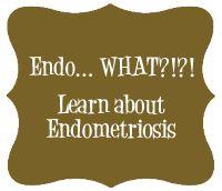 Endo... WHAT?!?! Learn about #endometriosis.  #infertility