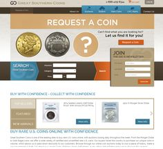 Great Southern Coins is one of the leading sites to buy rare U.S. coins online. Developed and Design by Citadel Infotech LLC North Carolina, Los Angeles, New York (USA)