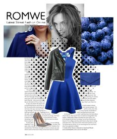 """""""Romwe 2/10"""" by lejlamekic ❤ liked on Polyvore featuring ASOS, Dorothy Perkins, Gianvito Rossi and romwe"""
