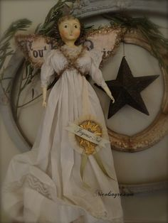 Join the Parade right here on Wed June 28 the dolls for sale will be listed at PDT Christmas Images, Christmas Angels, Simple Christmas, White Christmas, Xmas, Paper Mache Crafts, Fru Fru, Art Dolls, Dolls Dolls
