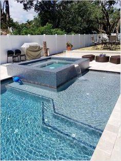 Amazing Swimming Pools, Small Swimming Pools, Swimming Pools Backyard, Swimming Pool Designs, Backyard Pool Landscaping, Backyard Pool Designs, Small Backyard Pools, Landscaping Ideas, Small Patio